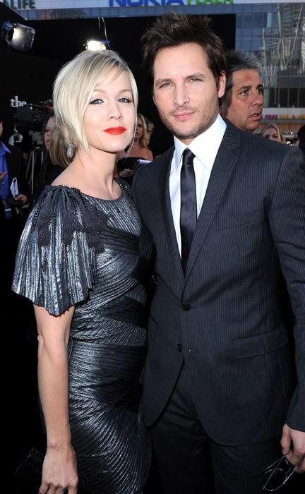 Peter Facinelli e la moglie Jennie Garth alla Premiere del film The Twilight Saga: Eclipse, Los Angeles, 2010