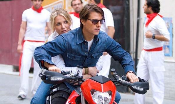 Tom Cruise e Cameron Diaz ancora in moto nel film Innocenti bugie