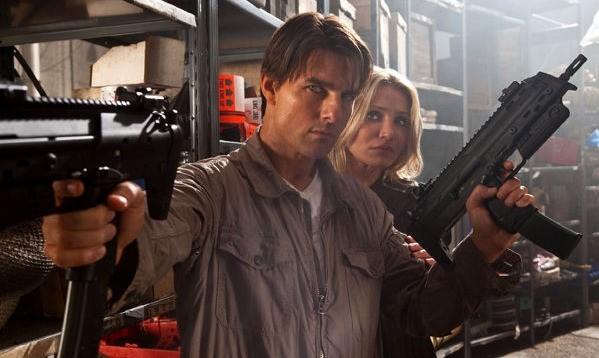 Tom Cruise e Cameron Diaz in azione nell'action Innocenti bugie
