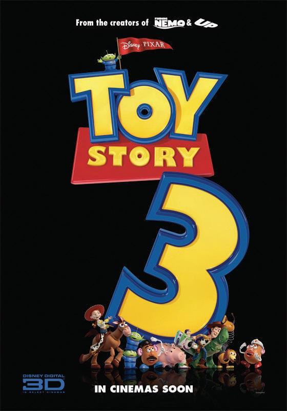 Uno dei poster realizzati per Toy Story 3