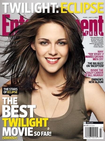 Kristen Stewart su Entertainment Weekly