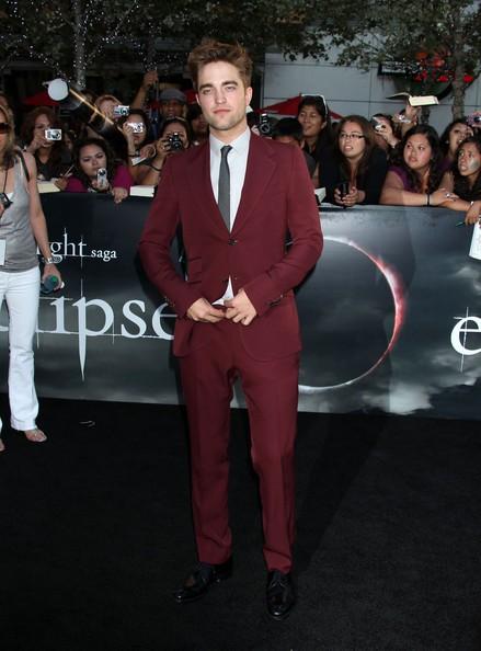 Robert alla premiere di Eclipse a L.A.