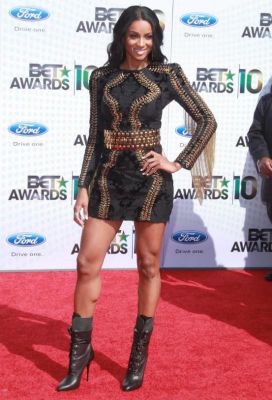Ciara ai BET Awards 2010