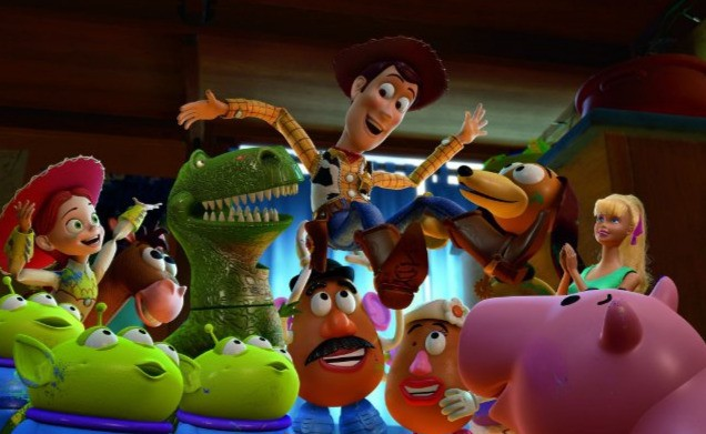 I personaggi diToy Story 3 omaggiano Woody