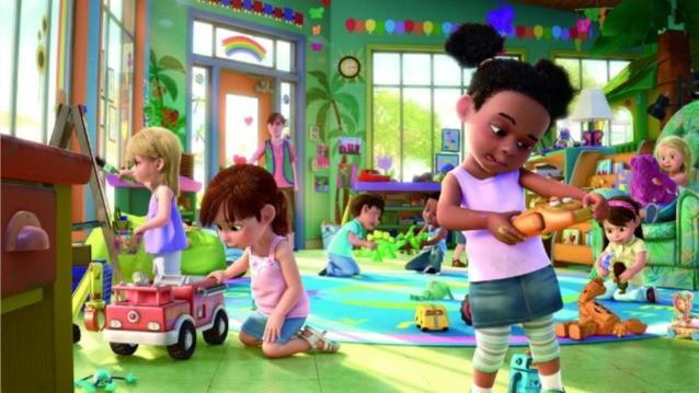 "I piccoli ""umani"" dell'asilo Sunnyside in Toy Story 3"