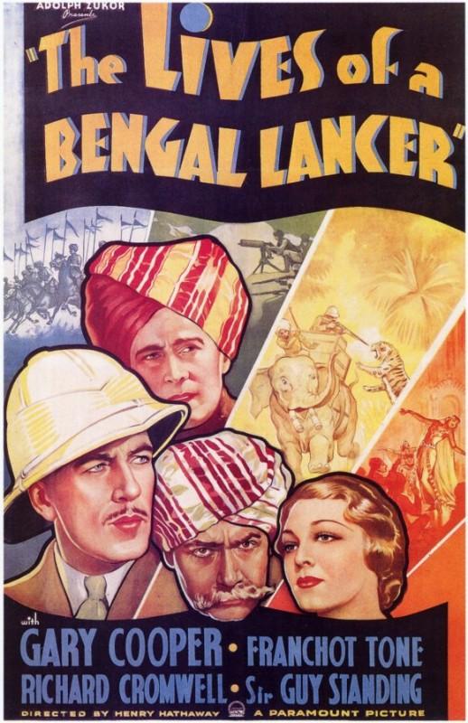 La locandina di I lancieri del Bengala