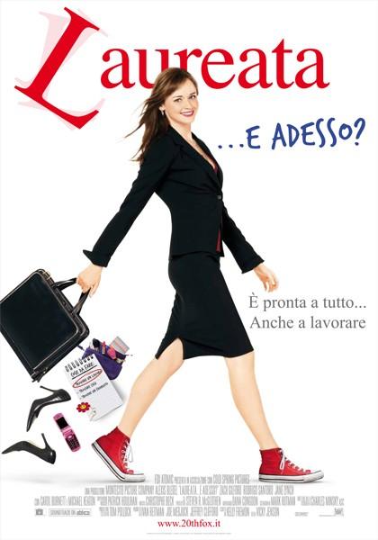 Locandina italiana per il film Laureata...e adesso?