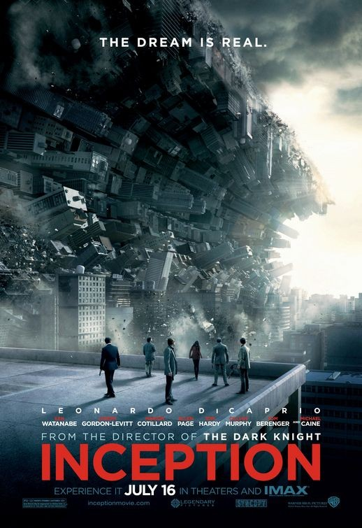 Poster USA per Inception - 1