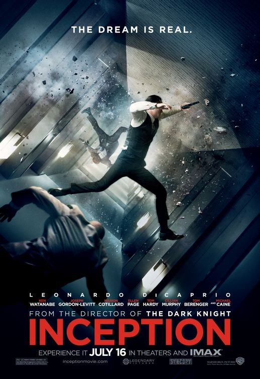 Poster USA per Inception - 2