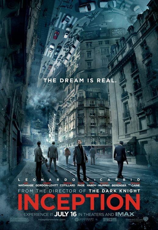 Poster USA per Inception - 4