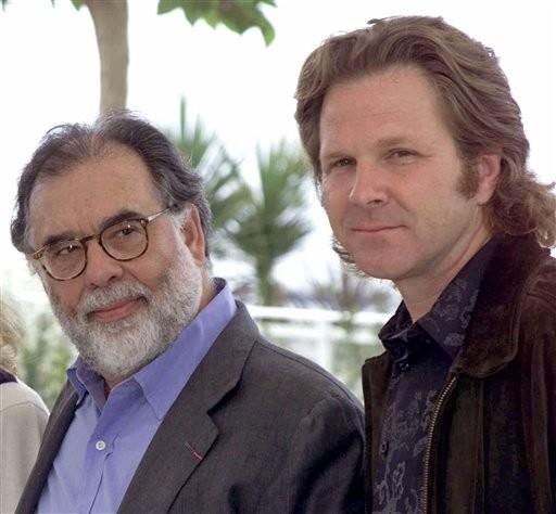 Sam Bottoms e il regista Francis Ford Coppola a Cannes per la proiezione di Apocalypse Now- redux