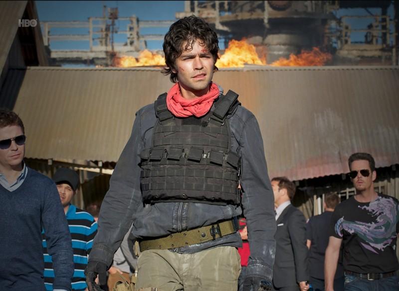Adrian Grenier e Kevin Connolly nell'episodio Stunted di Entourage
