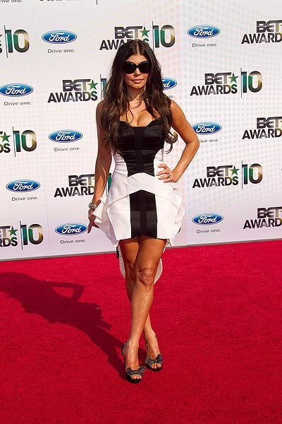 BET Awards 2010: il look di Fergie