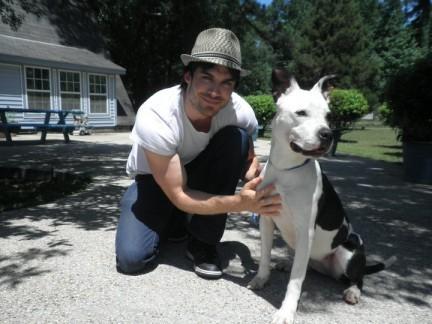 Ian Somerhalder e il suo amore per gli animali