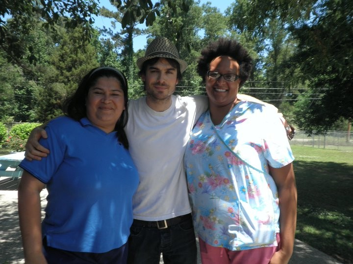 Ian Somerhalder in Louisiana