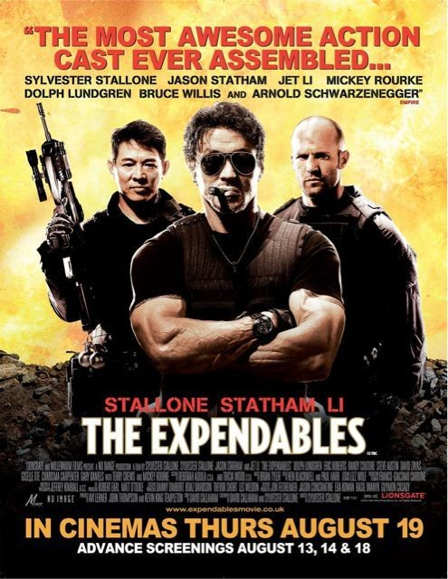 Poster UK per The Expendables