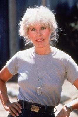 """Una foto promozionale di Loretta Swit, che in M.A.S.H. interpreta Margaret """"Labbra di fuoco"""" Houlihan"""