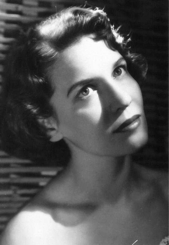 Anita Donà in una foto degli anni \'50