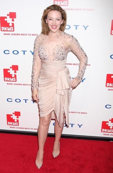 nude look per Kylie Minogue