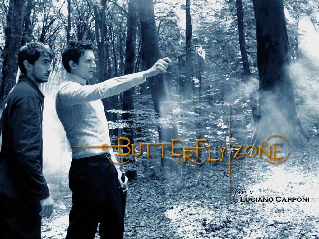 Un altro poster di Butterfly Zone - Il senso della farfalla con i due protagonisti