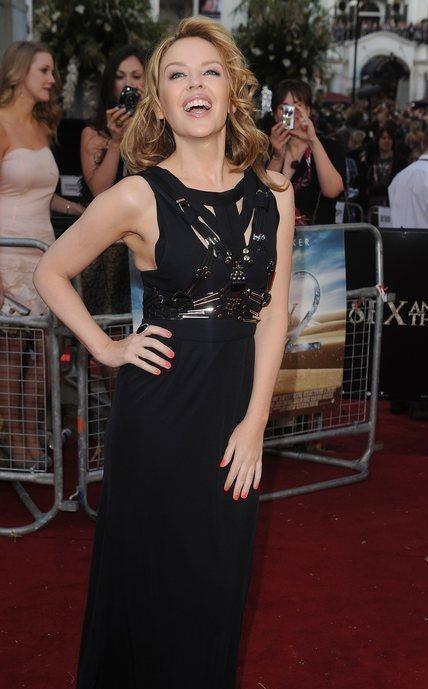 Una sexy Kylie Minogue