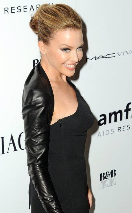Una sorridente Kylie Minogue