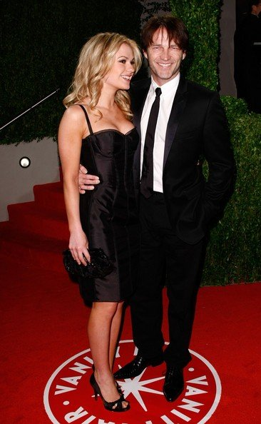 Anna Paquin e Stephen Moyer al party di Vanity Fair per gli Oscar (2009)