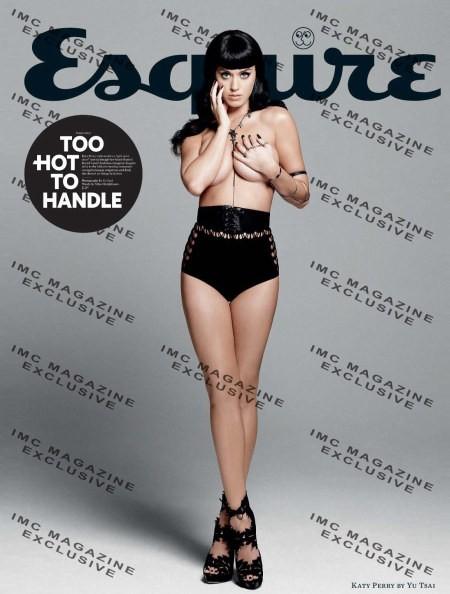 Katy Perry sulla copertina dell'Esquire (2010) in stile pin up