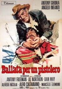 La copertina di Ballata per un pistolero (dvd)
