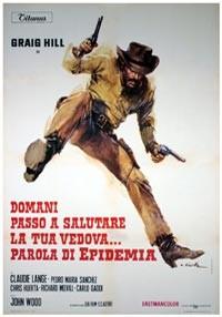 La copertina di Domani passo a salutare la tua vedova... parola di Epidemia (dvd)