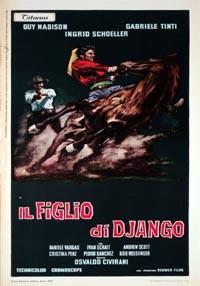 La copertina di Il figlio di Django (dvd)