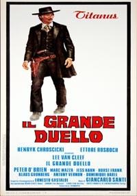 La copertina di Il grande duello (dvd)