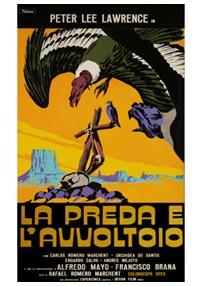 La copertina di La preda e l'avvoltoio (dvd)