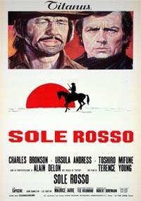 La copertina di Sole rosso (dvd)
