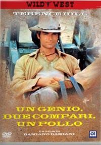 La copertina di Un genio, due compari, un pollo (dvd)