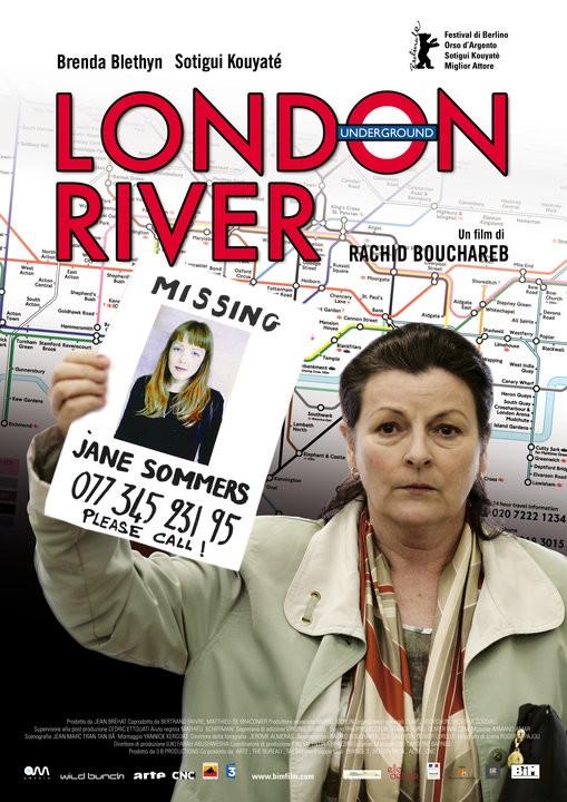 La locandina italiana di London River