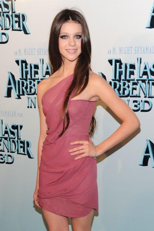 Nicola Peltz alla premiere del film The Last Airbender a New York