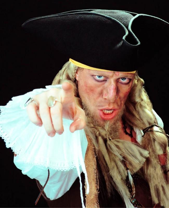 Ottaviano Blitch in versione pirata