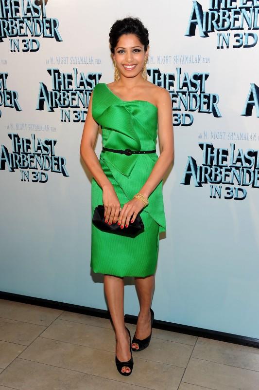 Summer Bishil alla premiere del film The Last Airbender a New York