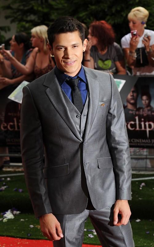 Alex Meraz alla premiere Londinese di The Twilight Saga: Eclipse