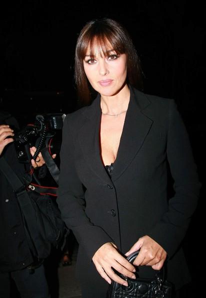 Monica Bellucci adf un party della maison Dior (2009)