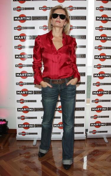 Isabella Ferrari al Martini Premiere Award