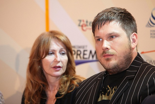 Marc Wootton al Roma Fiction Fest, nel 2010