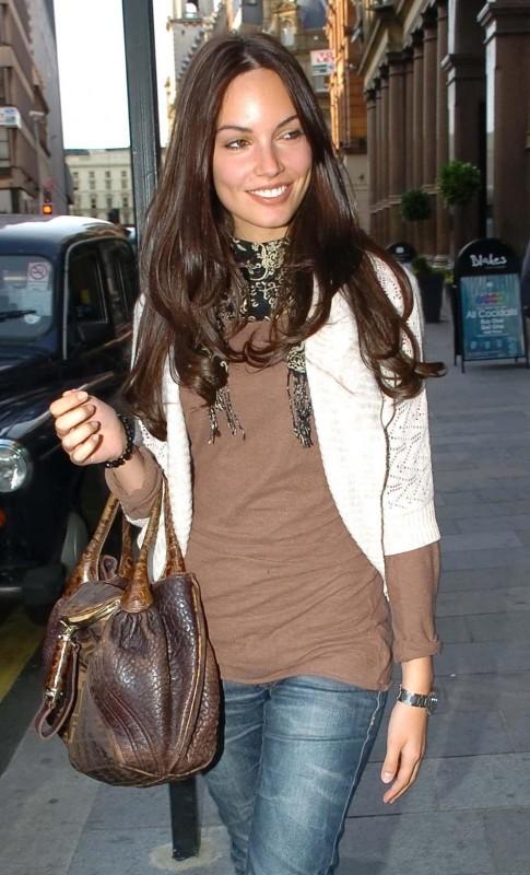Michela Quattrociocche in strada