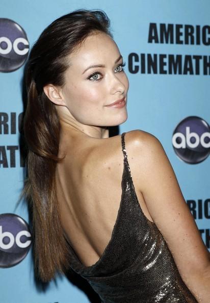 Olivia Wilde al party in onore di Matt Damon all'American Cinematheque