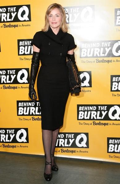 Sharon Stone al MoMa, nel 2010
