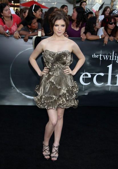 Anna Kendrick alla premiere di Eclipse