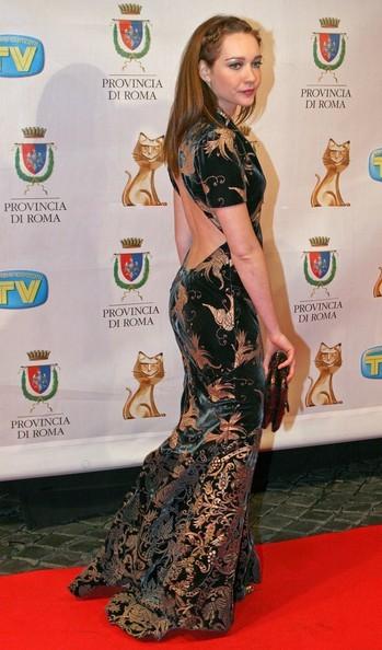 Cristiana Capotondi ai Telegatti 2007