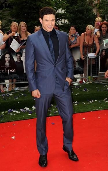 Kellan Lutz alla premiere londinese di Eclipse, nel 2010