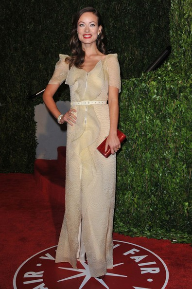 La bellissima Olivia Wilde al party after-Oscar indetto da Vanity Fair USA.